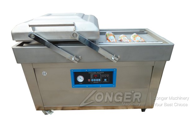Double Chamber Vacuum Packing Machine For Food