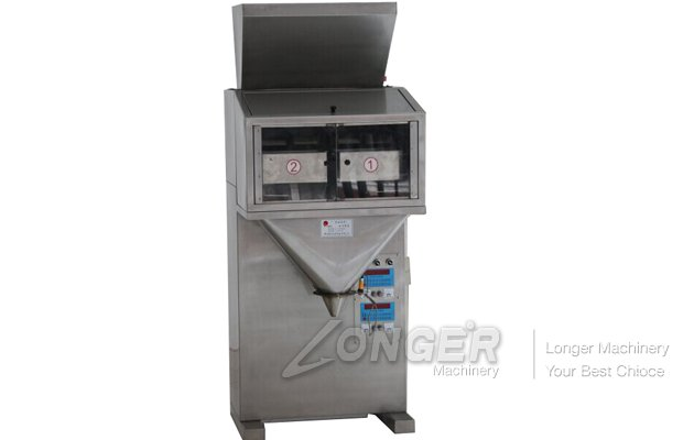 Washing Powder Packing Machine With Double Scale