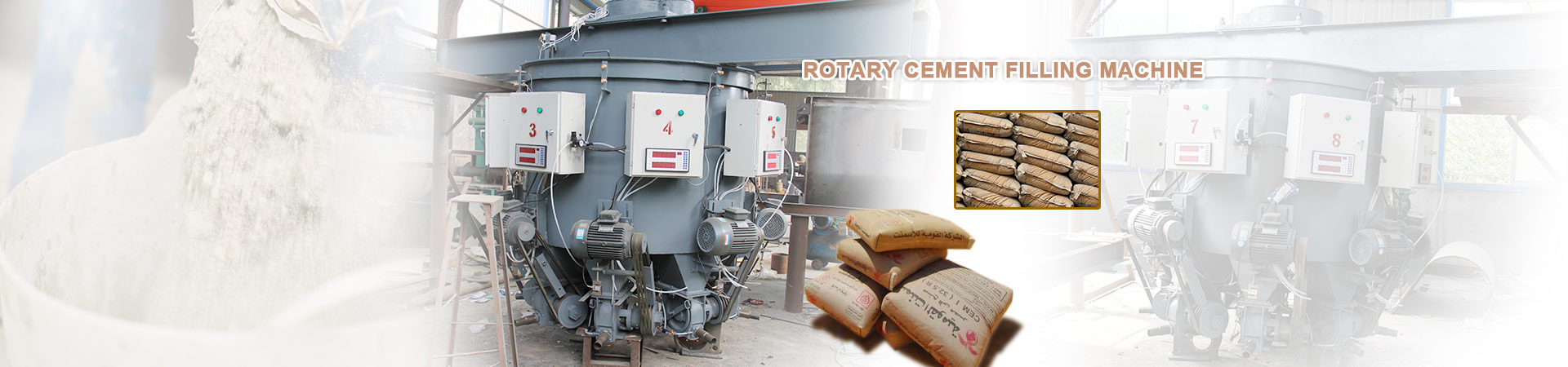 Rotary Cement Filling Machine